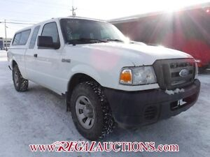2008 FORD RANGER  SUPERCAB 4WD
