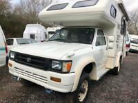 Toyota HILUX 4 BERTH MOTORHOME HIGH TOP 4WD MANUAL Brand New Camper conversion
