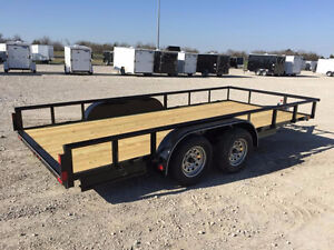 14ft Long by 76 wide Lemar Trailer