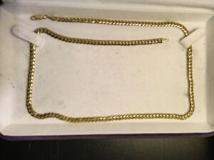 "14k Gold Cuban Link necklace 3.5mm 20"" Avianne and Co"
