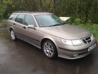 SAAB 95 2.2 TDCI ESTATE,DIESEL,2004,FULL SERVICE HISTORY ,MOT MAY 2018,£1595!
