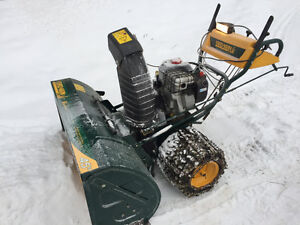"45"" Yard-Man snow thrower"
