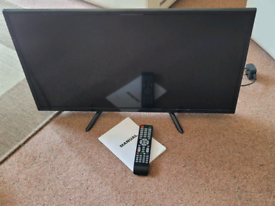 "As new - 32"" HD TV with remote control."