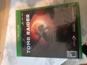Factory sealed Shadow of the Tomb Raider XBox One