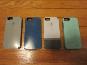 I Phone 5 Phone Cases - 4 included - 3 Speck and 1 Otter Box