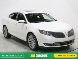"2013 Lincoln MKS AWD CUIR TOIT PANO MAGS 20"" PARK ASSIST"