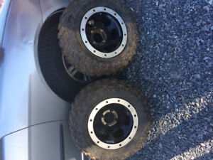 New tires and rims for a Honda 4/110 I  Believe