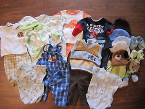 Baby Boys - 3-6 month lot (60 pieces)