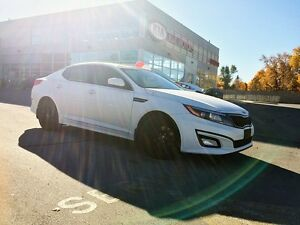2015 Kia Optima LX | SUNROOF | HTD SEATS | LOW KMS | ALLOYS