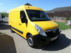 2013 Vauxhall Movano 2.3CDTI, 125ps L2H2 MWB 3500, Workshop Van, Maintenance Van