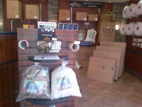 ONE STOP SHOP FOR STORAGE, MOVING & PACKING SUPPLIES!!!