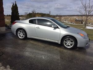 2008 silver Nissan Altima coupe 3.5 SE manual