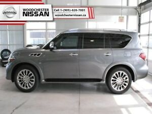 2017 INFINITI QX80 Tech Package  - one owner - $403.94 B/W