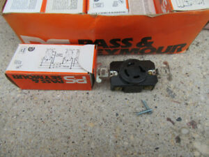 SINGLE RECEPTACLE - BOX FULL - 250V - 3 PHASE - PASS & SEYMOUR