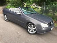 2004 Mercedes-Benz CLK500 5.0 Auto Avantgarde Convertible, 1 Owner!!! MOT 05/18
