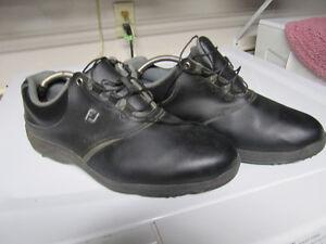 Mens Black Golf Shoes