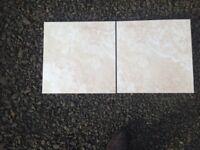 30m2 of Floor tiles. 18 x 18 inch