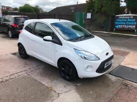 2016 FORD KA ZETEC WHITE EDITION 1.2 PETROL, MANUAL, ONLY 2,000 MILES FROM NEW