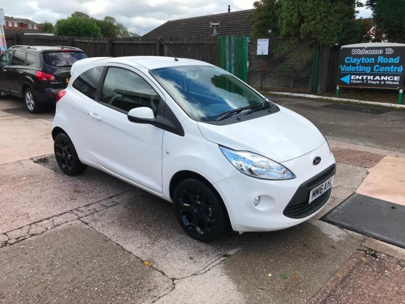 Ford Ka Zetec White Edition   Petrol Manual Only  Miles From New