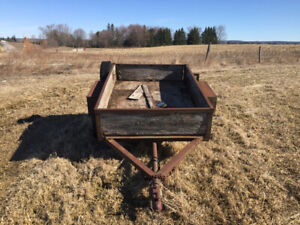 Trailer Army style make an offer