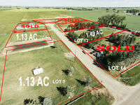 ACREAGE LOTS FOR SALE (SKY VIEW OF WHATS LEFT!!!)