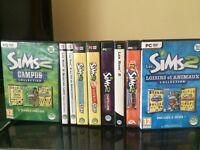 Collection les Sims 2 quasi complète !