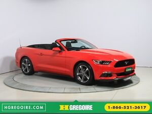2016 Ford Mustang V6 AUTO A/C DÉCAPOTABLE MAGS BLUETOOTH