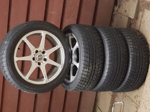 Konig rims with tires