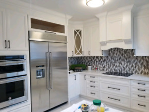 Custom kitchen cabinets and wood working