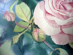 """L/Edition, Hand Signed, Mary-Dawn Roberts, """"Victorian Roses"""" Stratford Kitchener Area image 7"""