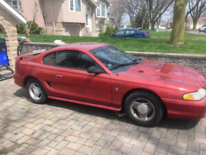"""1994 Mustang Coupe $1200.00 or Best Offer """"as is"""""""