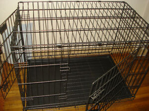 Petco Large Wire Pet Cage / Crate W/ Divider