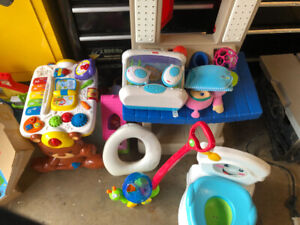 Everything must go so heres a good baby toddler learning package