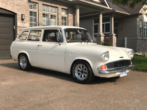 Classic ford anglia estate .  CERTIFIED / RARE RARE