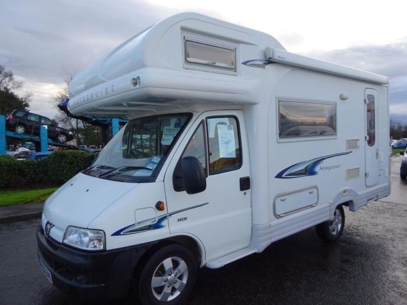 peugeot boxer autocruise stargazer motorhome   in perth, perth and