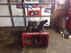 MasterCraft 10Hp snowblower