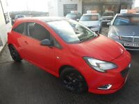 Vauxhall Corsa LIMITED EDITION S/S (flame red/ black roof) 2015