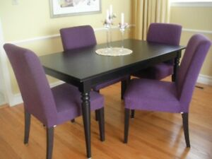 Henriksdal Chairs and Dining Table