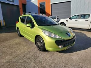 2008 Peugeot 207 A7 XT Touring Green 4 Speed Sports Automatic Wagon