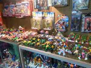 Lots of toys and collectibles in Arkona