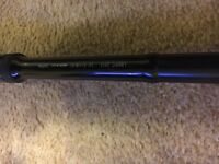3x daiwa 3.5lb longbow df carp rods