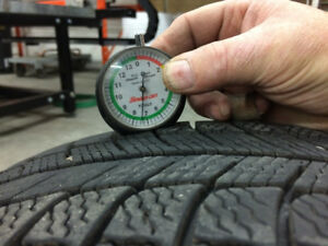 4 Michelin X-Ice Winter Tires $400 (No Rims) - 215 / 60R16