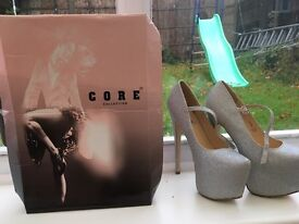 DESIGNER CORE COLLECTION//7 INCH HEELS// BRAND NEW WITH BOX// NEVER BEEN WORN// SIZE 5