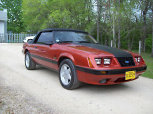 1984 Mustang GT Convertible For Sale or Trade