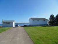 WATERFRONT  cottage 2 bedroom,large lot, private,