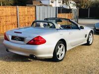 2004 L MERCEDES-BENZ SL 5.0 SL500 2D AUTO 306 BHP
