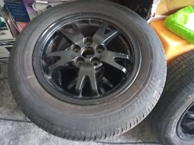 2009-2015 Toyota Prius 1.8hybrid 4 x alloys+tyres
