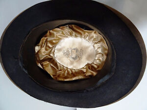 early BOWLER DERBY gent's hat BOND Calhoun's Stores STEAMPUNK Kitchener / Waterloo Kitchener Area image 5