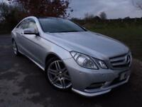 2013 Mercedes Benz E Class E200 BlueEFFICIENCY Sport 2dr Tip Auto Pan Roof! F...