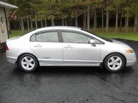 2008 Honda Civic LX Sedan, Loaded, 5-Speed, Has to be Seen